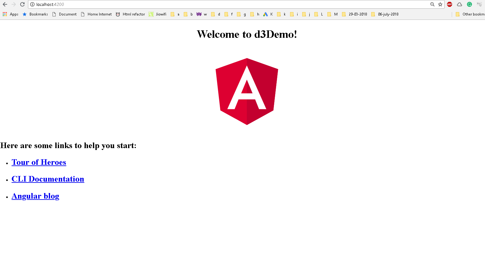 D3 Integration with Angular 6 Tutorial - Line Charts Example