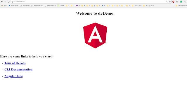 Angular and d3 linechart example