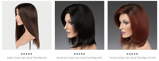 Lilyhair Hand-Tied Wigs
