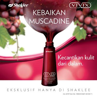 Vivix Shaklee Polifenol Untuk Kulit