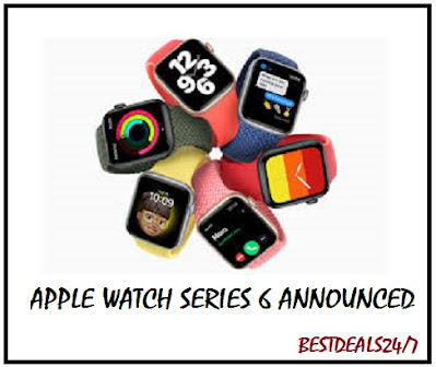 Apple Watch Series 6 Announced