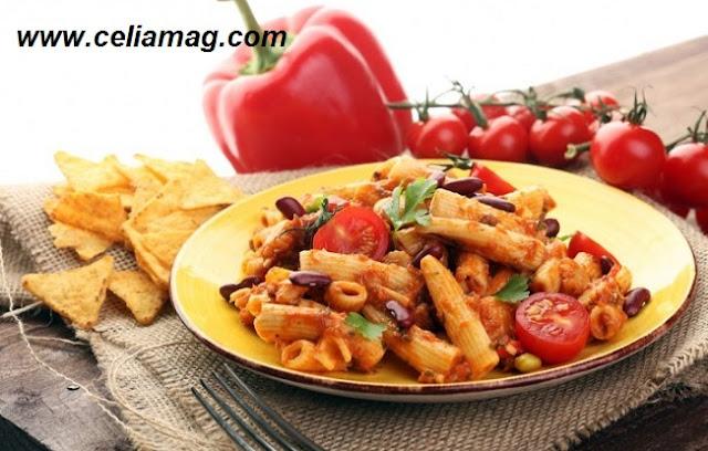 مكرونة بالطماطم والفاصوليا الحمرا/ طبخات سعودية