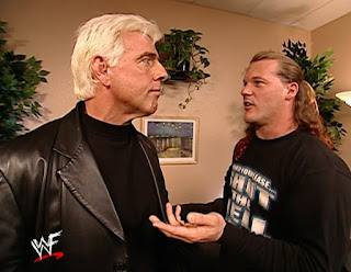WWE / WWF Vengeance 2001 - Chris Jericho confronts Ric Flair