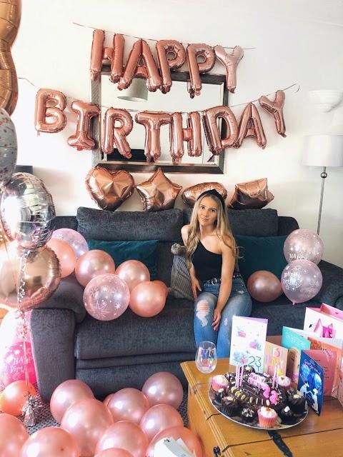 My Lockdown Birthday | Ballon overload| Pancakes| Presents| Pizza