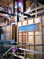 Warner Bros. studio tour facade set