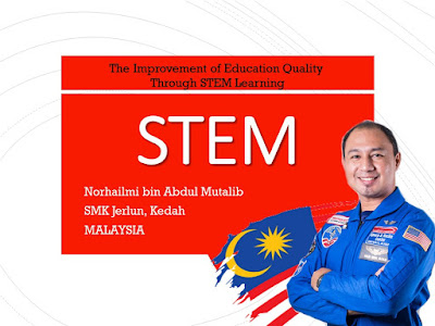 Perkongsian Online Amalan Terbaik STEM Cikgu Hailmi  dengan MOE Indonesia