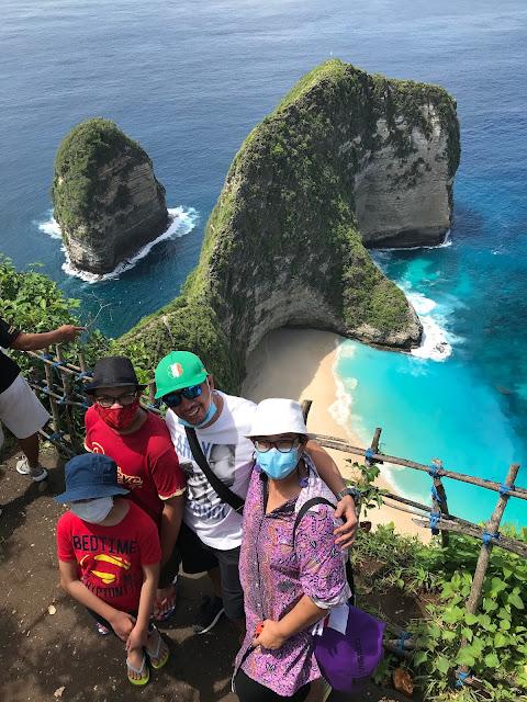 The Amazing Kelingking Beach, Nusa Penida Bali