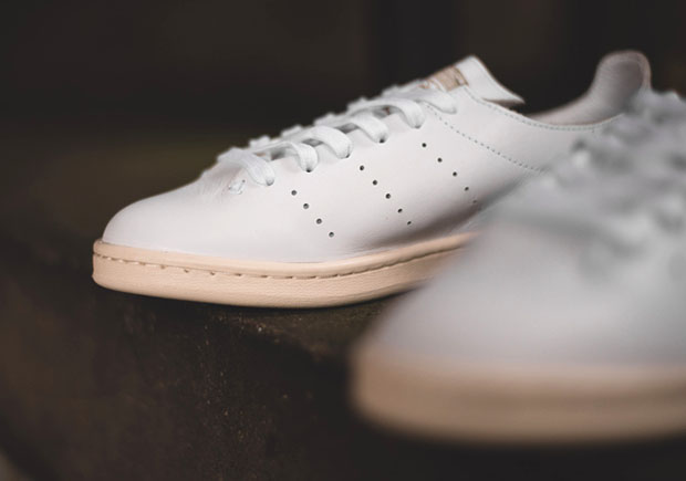 Stan Smith White Leather Sock Brasil