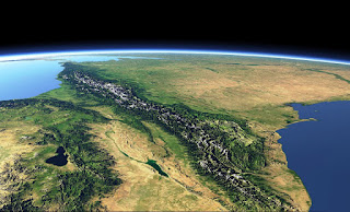 Foto Satelit Wilayah Perbatasan Georgia-Russia