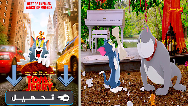 "فيلم توم اند جيري ""tom and jerry"" الجديد"