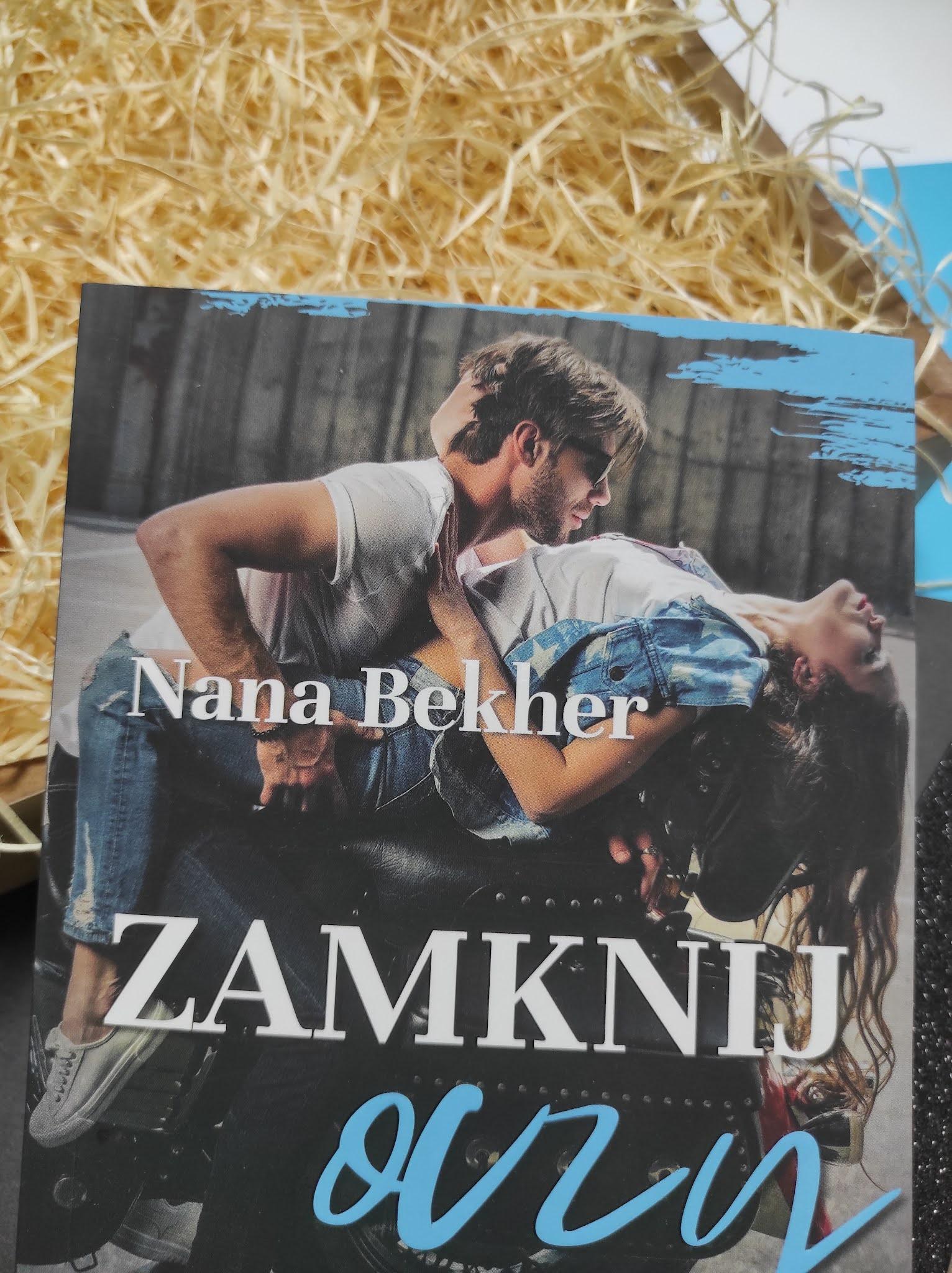 """""""Zamknij oczy"""" Nana Bekher - recenzja"""