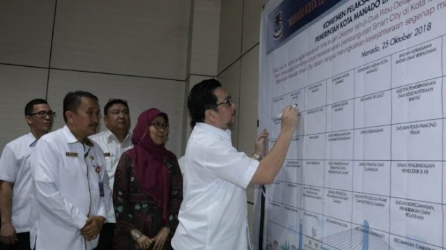 Pemkot Manado Matangkan Program Smart City, Warga Bisa Cek Harga Sembako dari Handphone