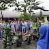 Koramil 04/Sawang Gelar Sosialisasi Wasbang dan Outbond Kepada Pelajar SMAN 1 Sawang