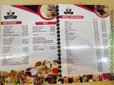 menu restoran Der' Village Kichen's