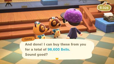 Selling Turnips On Animal Crossing