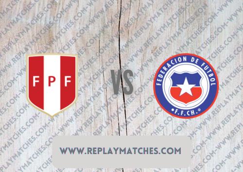 Peru vs Chile Highlights 08 October 2021