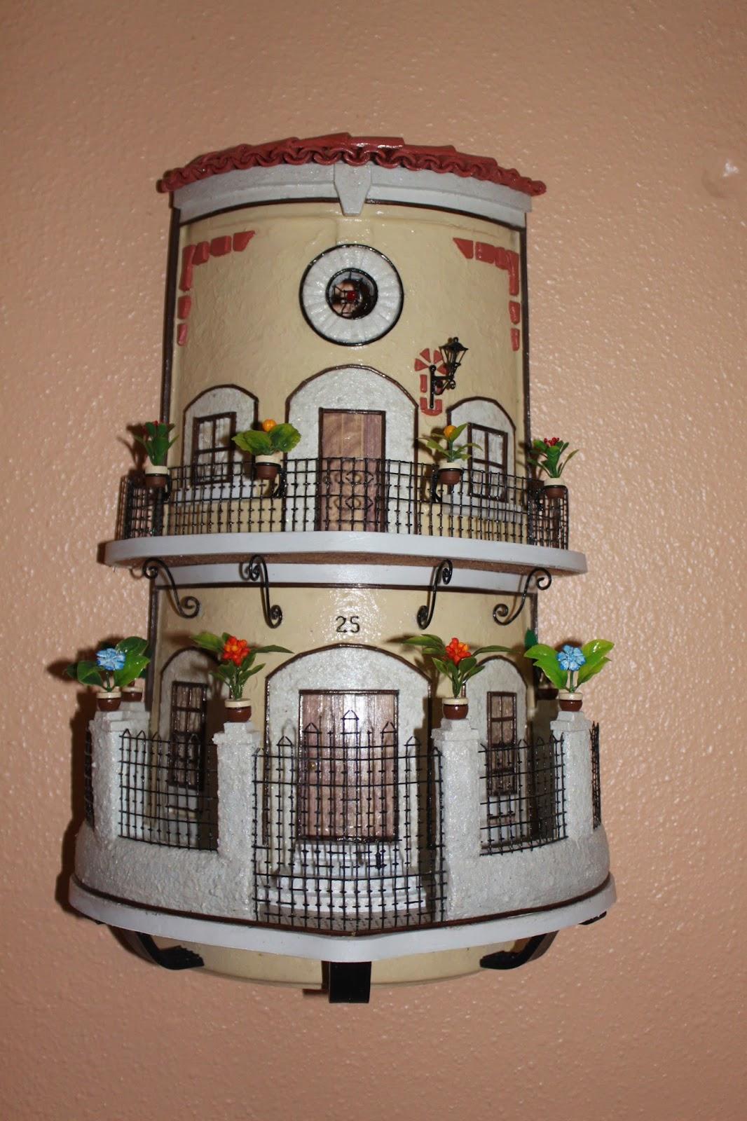 Tejas decoradas hechas a mano for Fotos de fachadas de casas andaluzas