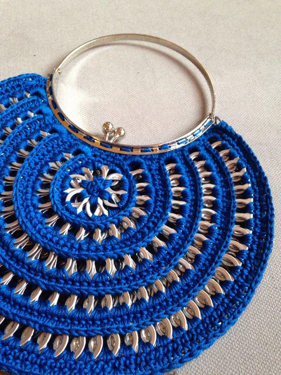 10 Bolsos De Crochet Increíbles Hechos Con Productos Reciclados