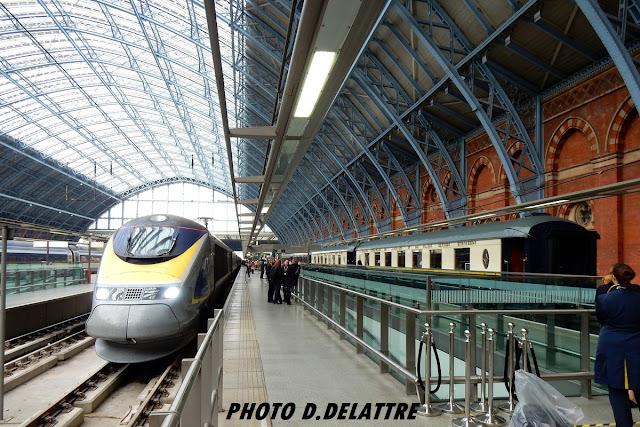 Thumbnail of  Remake  du Crime de l'Orient Express à Londres St Pancras hier jeudi !
