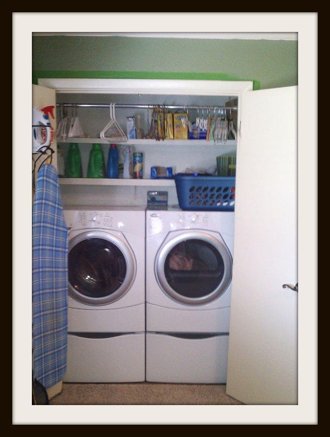 laundry room closet organization | Laundry Room Closet | gustitosmios