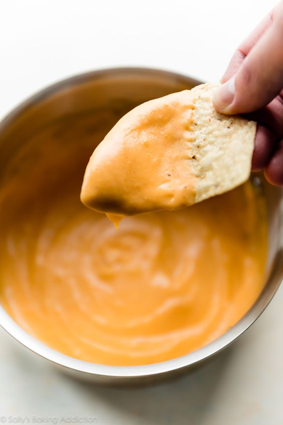Spicy Nacho Cheese Sauce