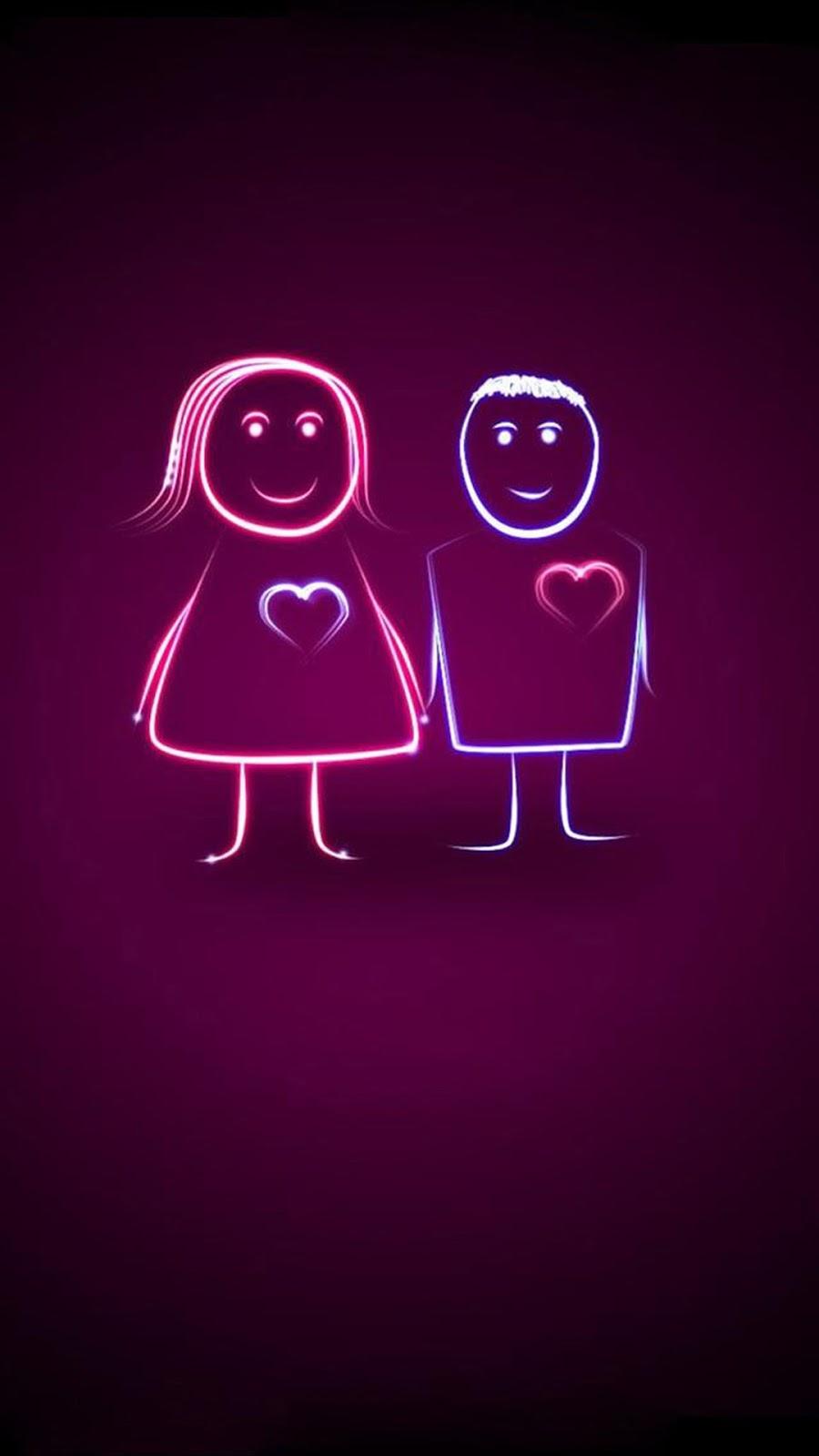 Love Couple Iphone 7 Iphone 7 Plus Wallpaper Hd Iphone 7