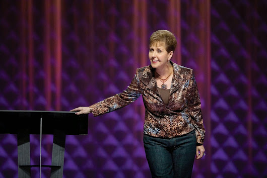 Today's Meditatiob with JoyceMeyer