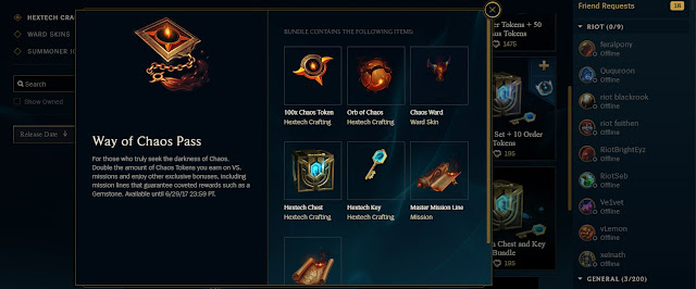 Arcade Crafting Lol Pbe