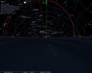 Mars at 2009-12-31T21:30 UTC+0800