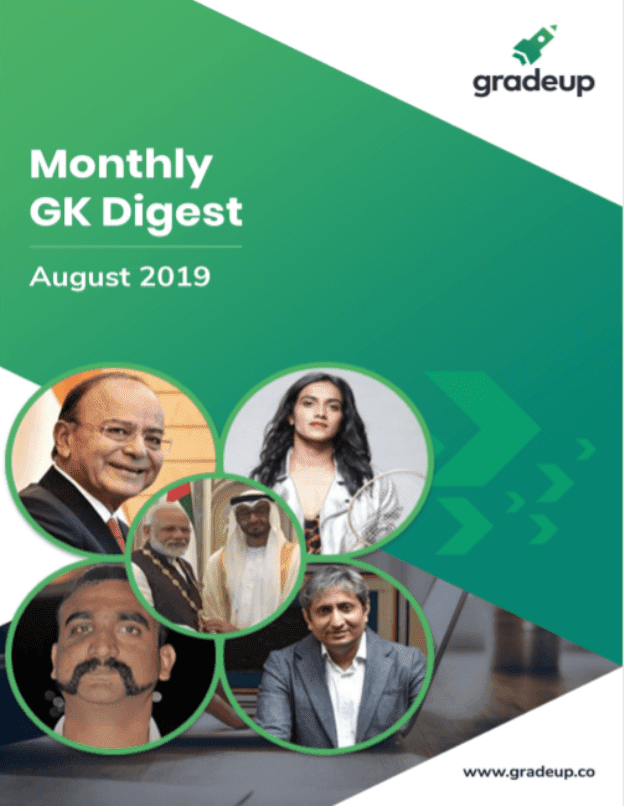 Monthly-GK-Digest-August-2019-For-All-Competitive-Exam-PDF-Book