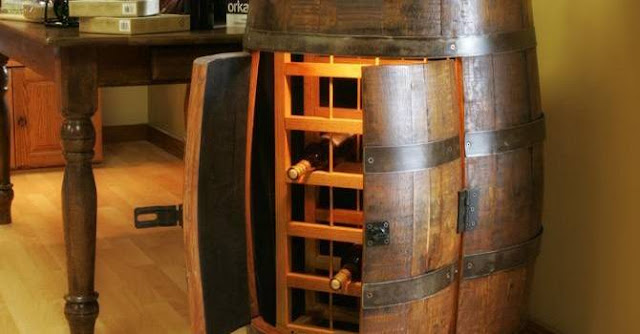 Παλιά βαρέλια μετατρέπονται σε απίστευτες κατασκευές [ΕΙΚΟΝΕΣ]