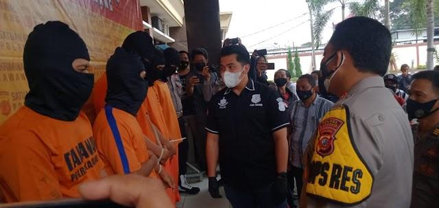 Polres Karawang Bekuk Komplotan Pembobol Minimarket