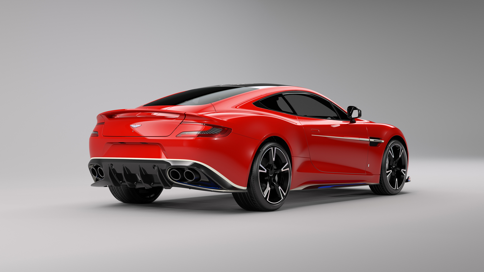 Aston Martin Vanquish S Red Arrows Edition Salutes The Raf