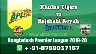 Rajshahi vs Khulna BPL T20 Qualifier 1,