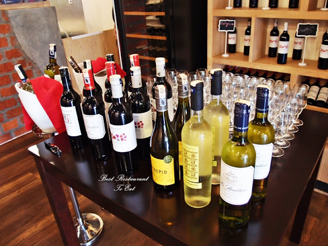 Kai's Plato Seafood Restaurant Wine Selection