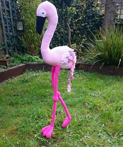 crochet flamingo by lazy daisy jones. Lately: a look back at April.