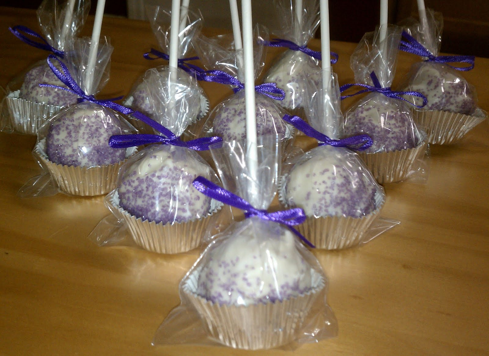 My Cute Little Cake Pop House Warming Cake Pops