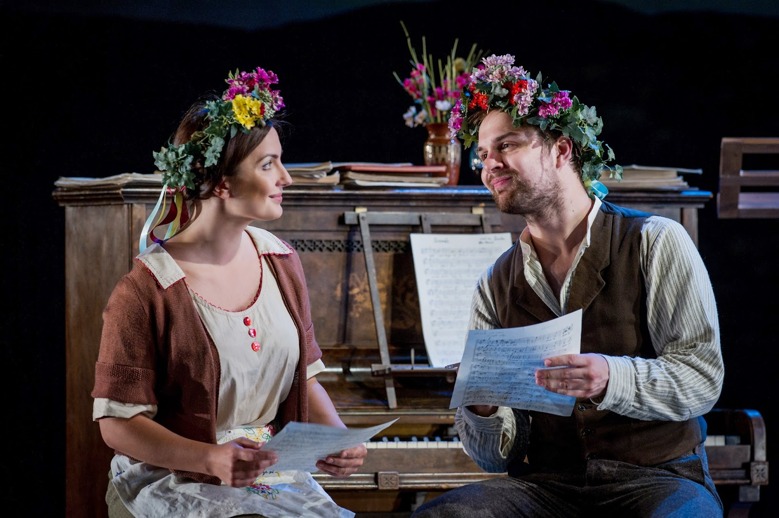 Anna Patalong and Matthew Newlin in Dvorak's The Jacobin at Buxton Festival
