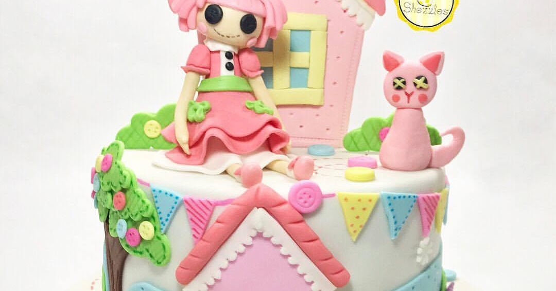 Amazing Shezzles Cakes And Pastries Lalaloopsy Cake Personalised Birthday Cards Rectzonderlifede