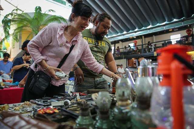 Antique market in HCM City, Vietnam