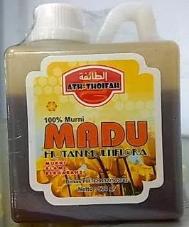 Jual Madu Hutan Murni Multiflora 0.5 liter di surabaya