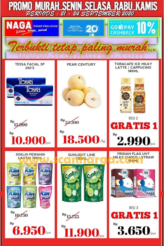 Katalog Promo Naga Pasar Swalayan 21 - 24 September 2020