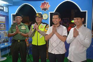 Malam Takbiran, Forkopimda Kabupaten Trenggalek Pastikan Kesiagaan Posko Lebaran