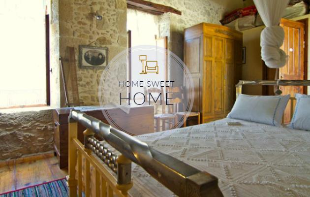 Παραδοσιακή αγροτική κατοικία στην Κρήτη