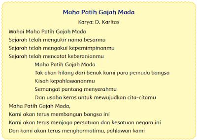 puisi Maha Patih Gajah Mada www.simplenews.me