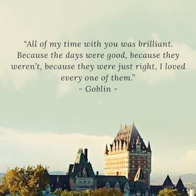 Quote From Kim Shin Goblin