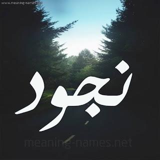 معني اسم نجود Nejoud