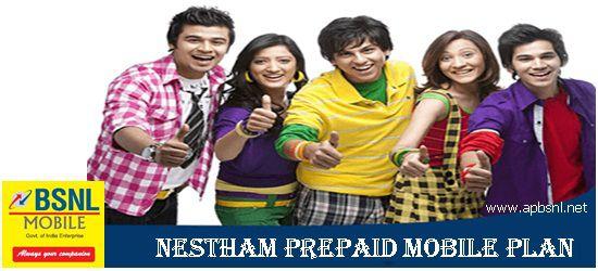 Nestham Prepaid plan - Andhrapradesh - Telangana