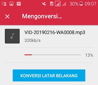 cara mengubah video mp4 ke mp3 di android