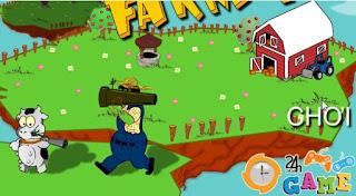 Chơi game phòng thủ nông trại hấp dẫn